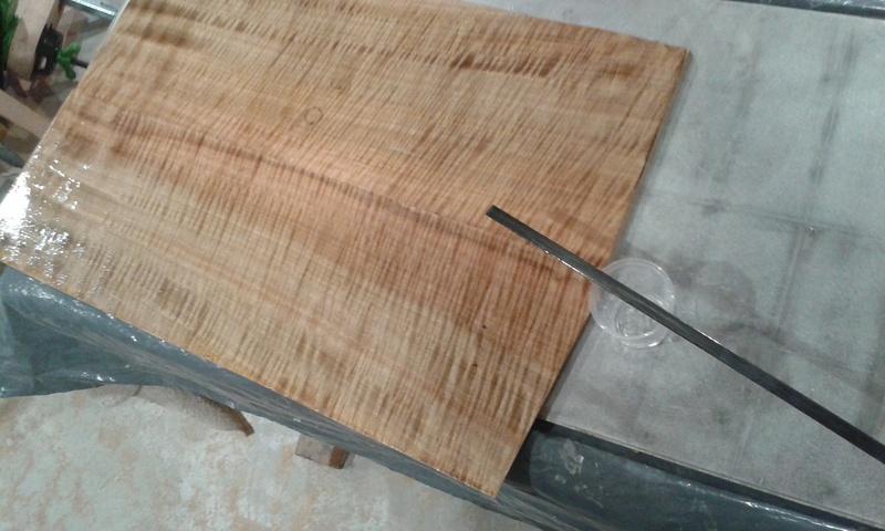 Pegar maderas con epoxy 20160810