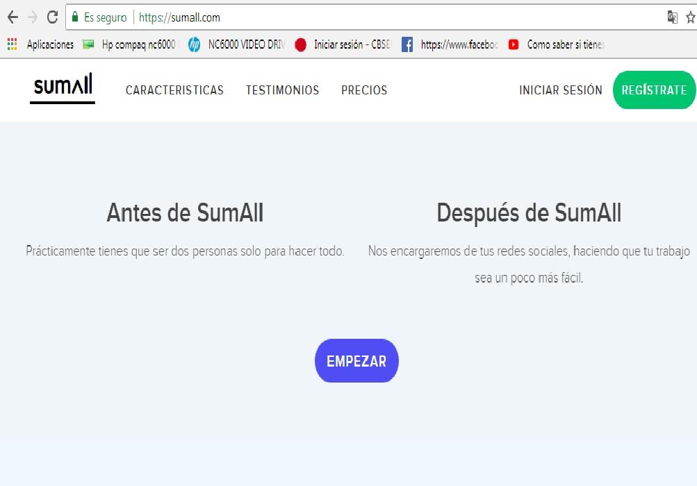 Practica 2, realiza la practica 2 relacionada con la seleccion de la plataforma Sumall10