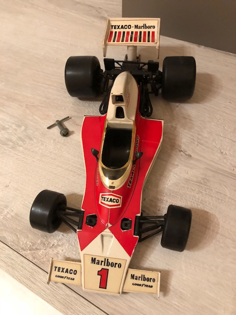 F1 McLaren M23 Emerson Fittipaldi 1973-78 Polistil Img_1716