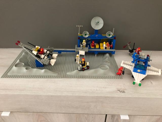 Lego 6970 - Base spaziale Beta 1 - 1981 + ASTRONAVE  Img_1812