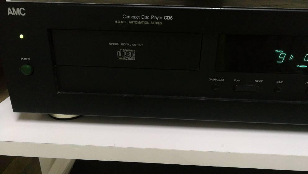AMC cd 6 CD player  Biev7610