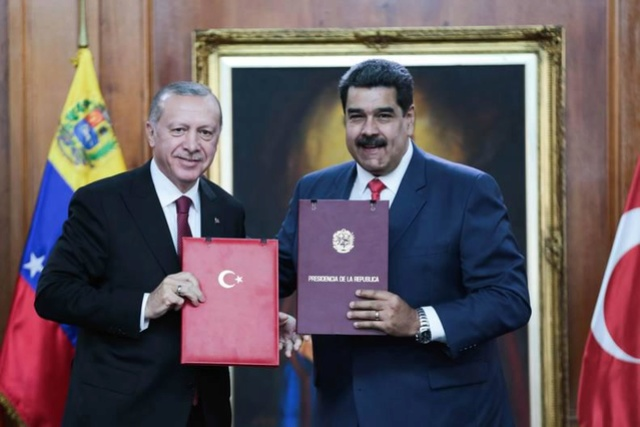 Erdogan y Nicolás Maduro