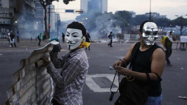Protestas anónima