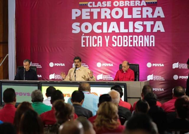 Maduro denuncia infiltración de EEUU en puestos claves de PDVSA para destruir la empresa De-h4j10