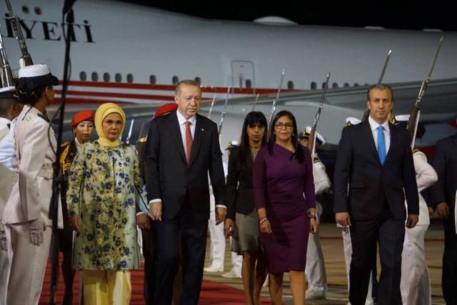 Erdogan en Venezuela