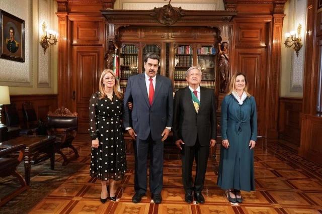 Nicolás Maduro y López Obrador