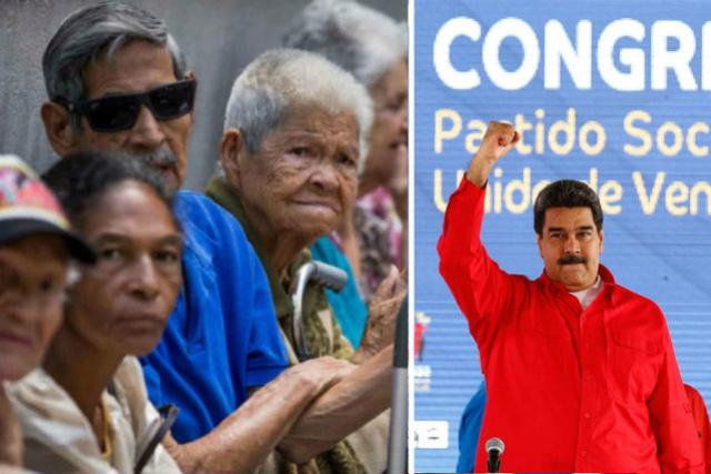 Pensionados, Nicolás Maduro