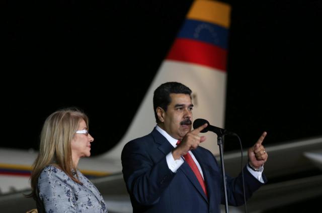 Nicolás Maduro en Rusia