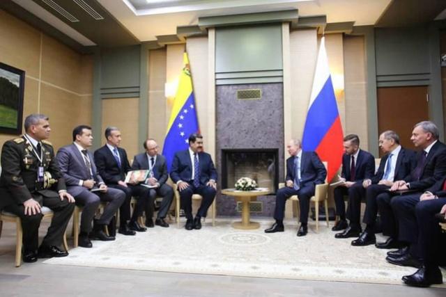 Nicolás Maduro y Vladimir Putin, Rusia