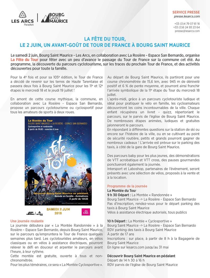 La Fête du Tour, le 02 juin à Bourg Saint Maurice Commun10