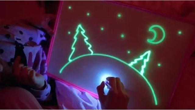 """Детский интерактивный набор для рисования в темноте """"Рисуй светом"""" (Low Price) Screen14"""