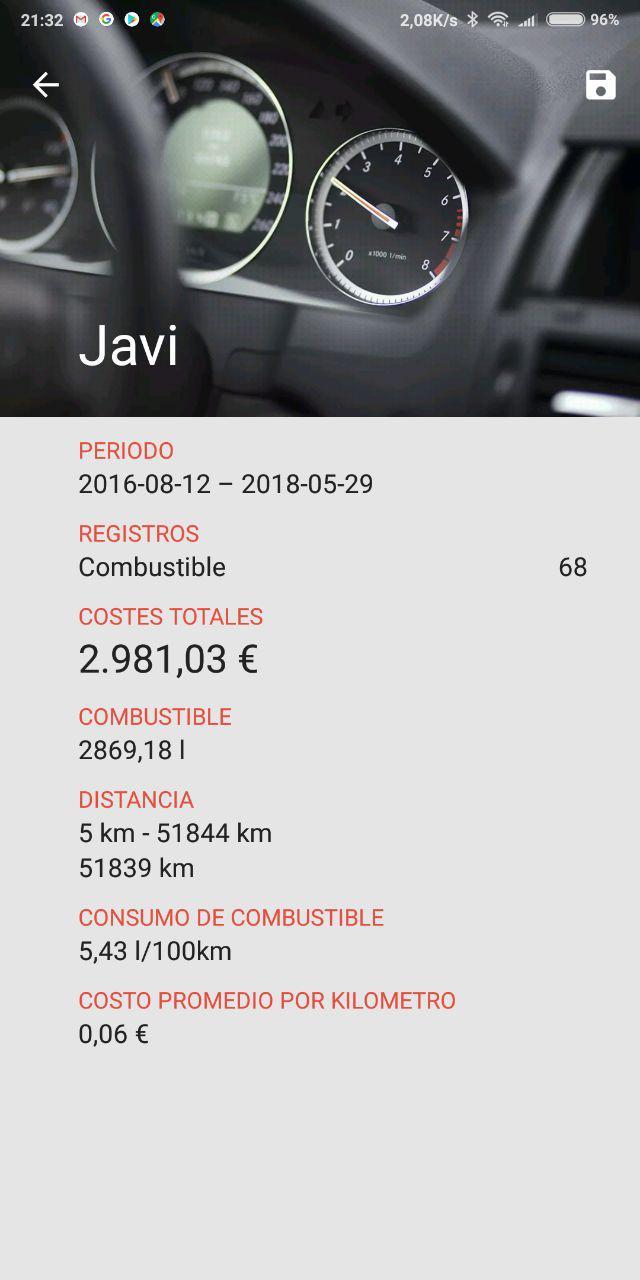 Consumo Astra K 1.6 Biturbo 160CV Ultimo10
