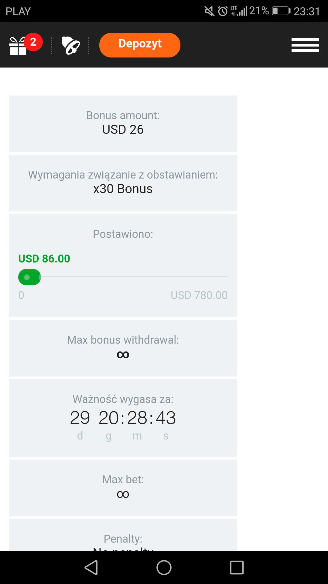 CasinoX Sportsbook - freebet 10€ bez depozytu - Page 3 Screen10