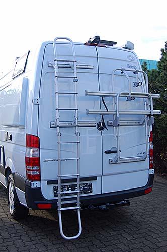 Porte Roue Desert Service pour Sprinter 4x4 Zubeho10