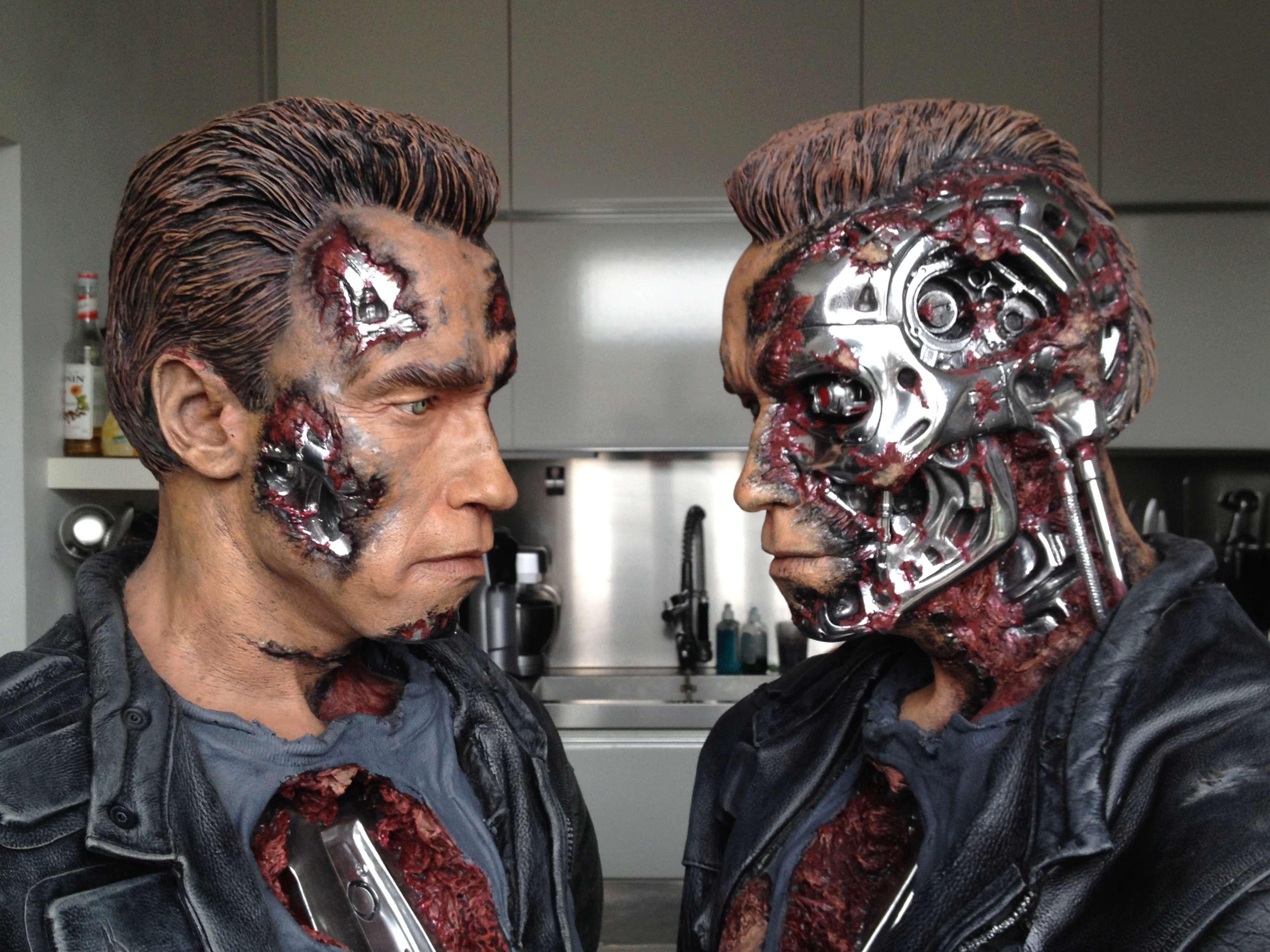 Bustes terminator Arnold Schwarzenegger fan made Img_1510