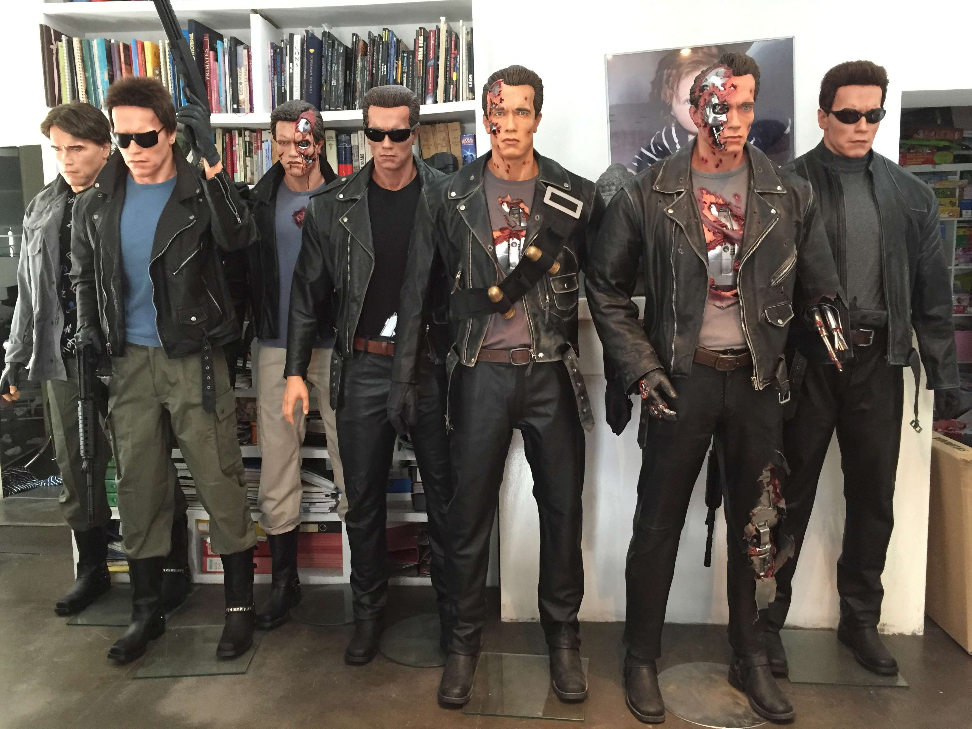 Bustes terminator Arnold Schwarzenegger fan made Img_1615