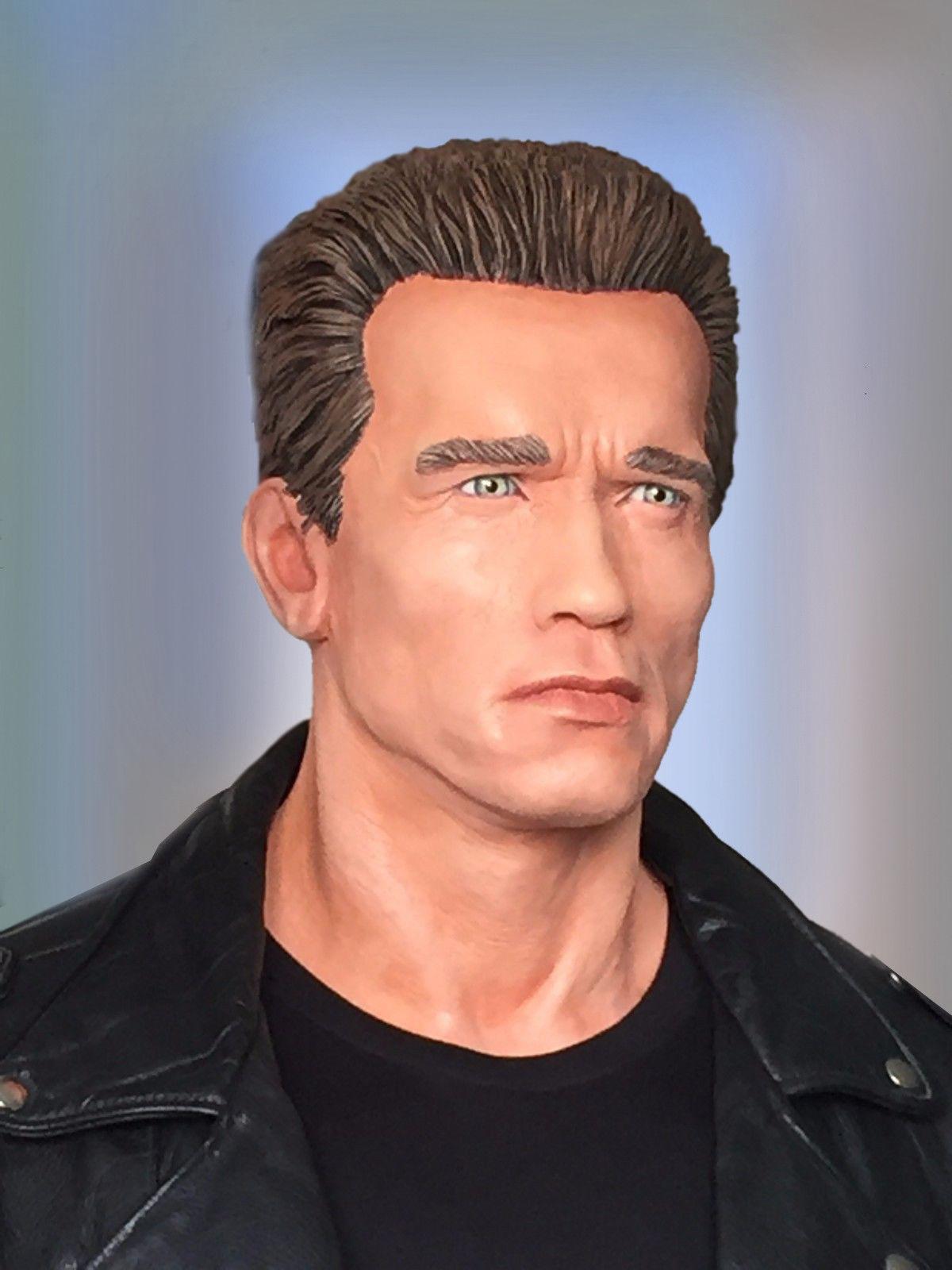 Bustes terminator Arnold Schwarzenegger fan made S-l16010