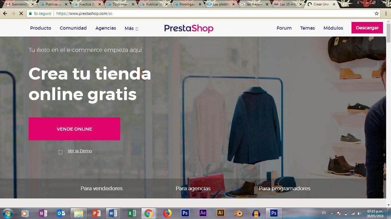 Practica 2, realiza la practica 2 relacionada con la seleccion de la plataforma - Página 2 Presta10