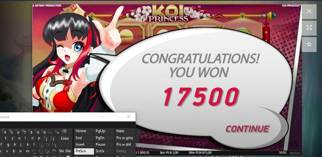 Screenshoty naszych wygranych (minimum 200zł - 50 euro) - kasyno - Page 8 Koi10