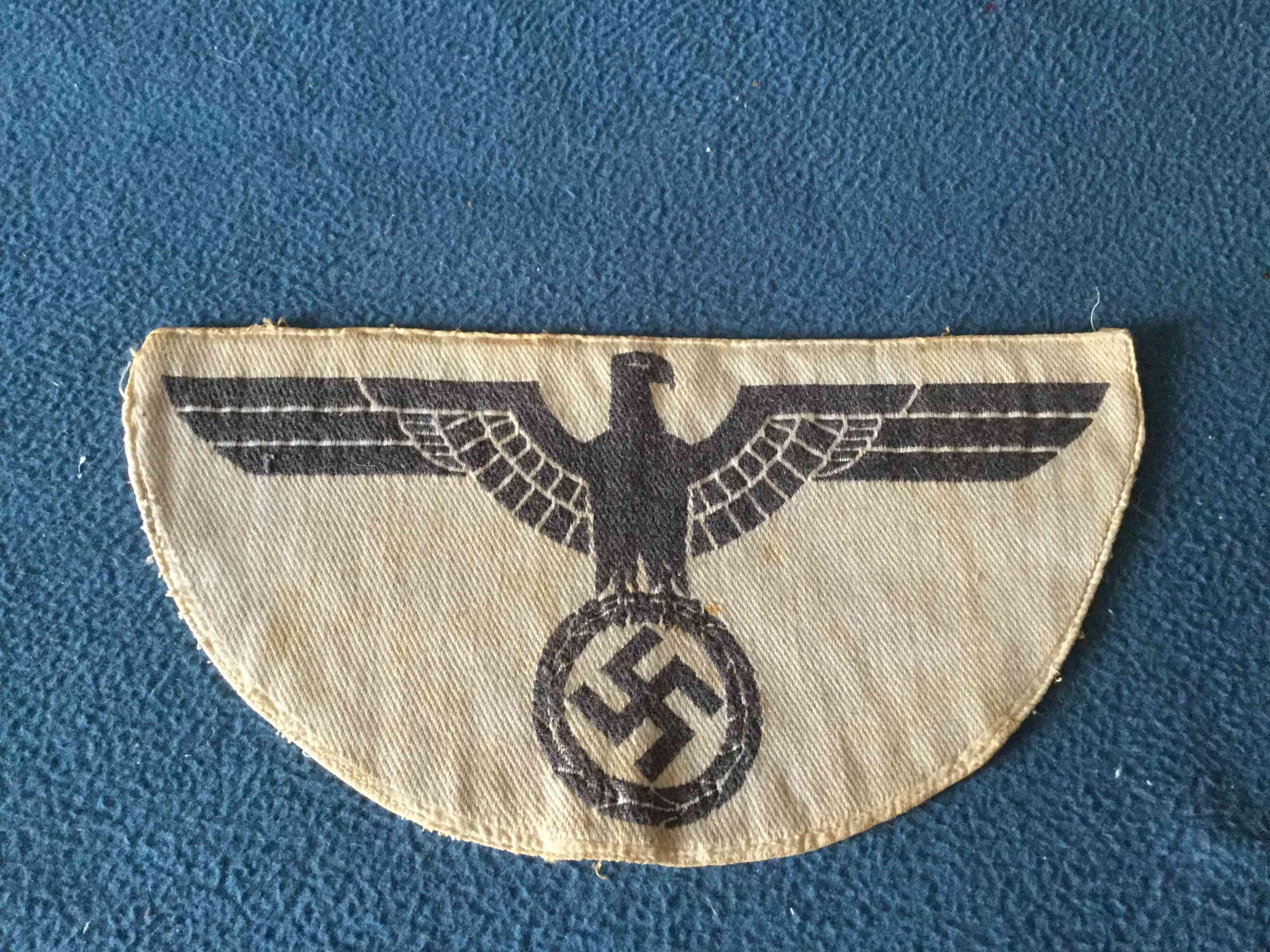 insigne allemand WW2 Tissu10