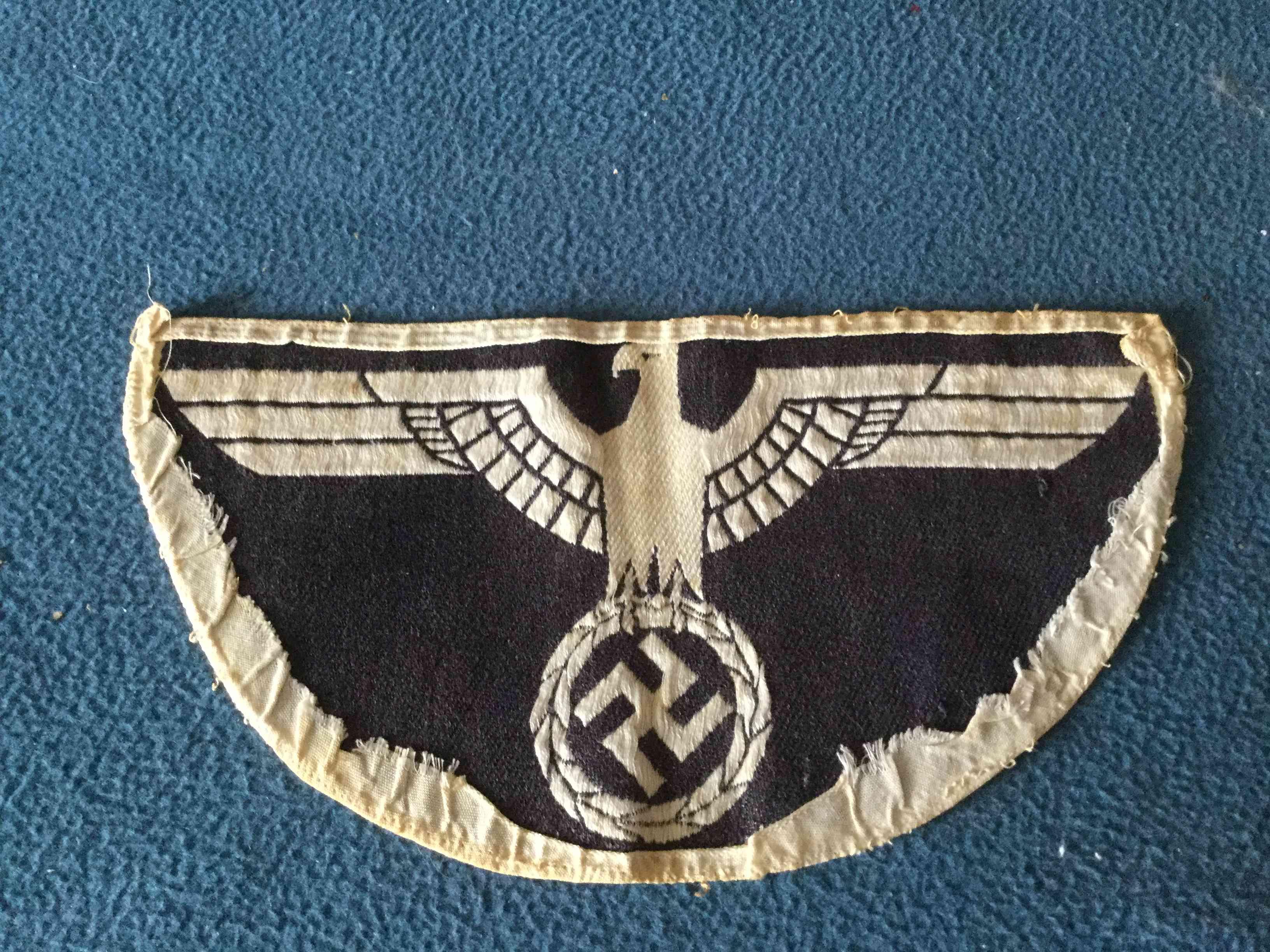 insigne allemand WW2 Tissu110