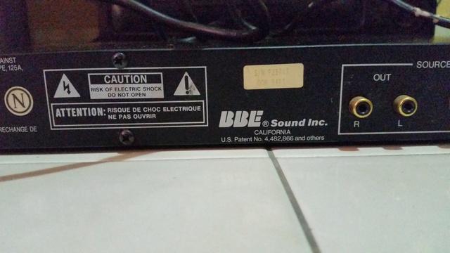 BBE Audio Restoration System 20171112