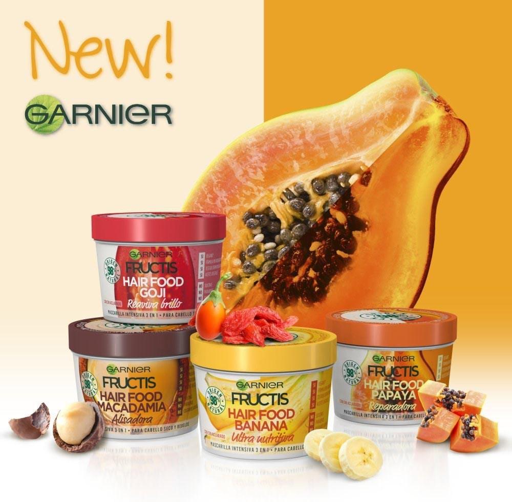 Maschere Capelli Garnier Fructis Hair Food Garnie10