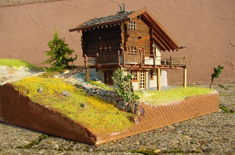 Schweizer Diorama in H0  gebaut von Dioramann D00_0011