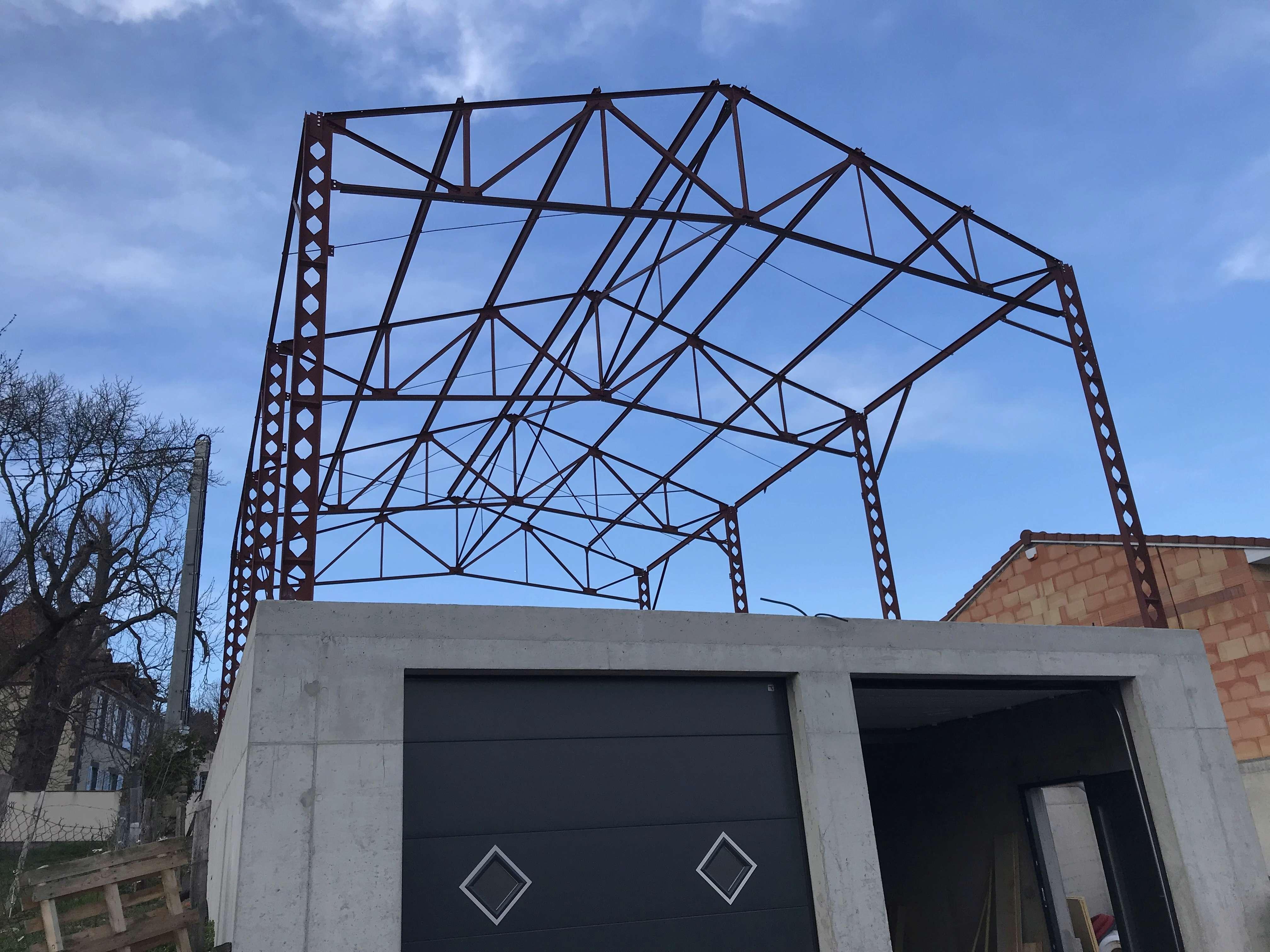Chroniques de fatou, construction du pigeonnier sous toiture 9181ad10