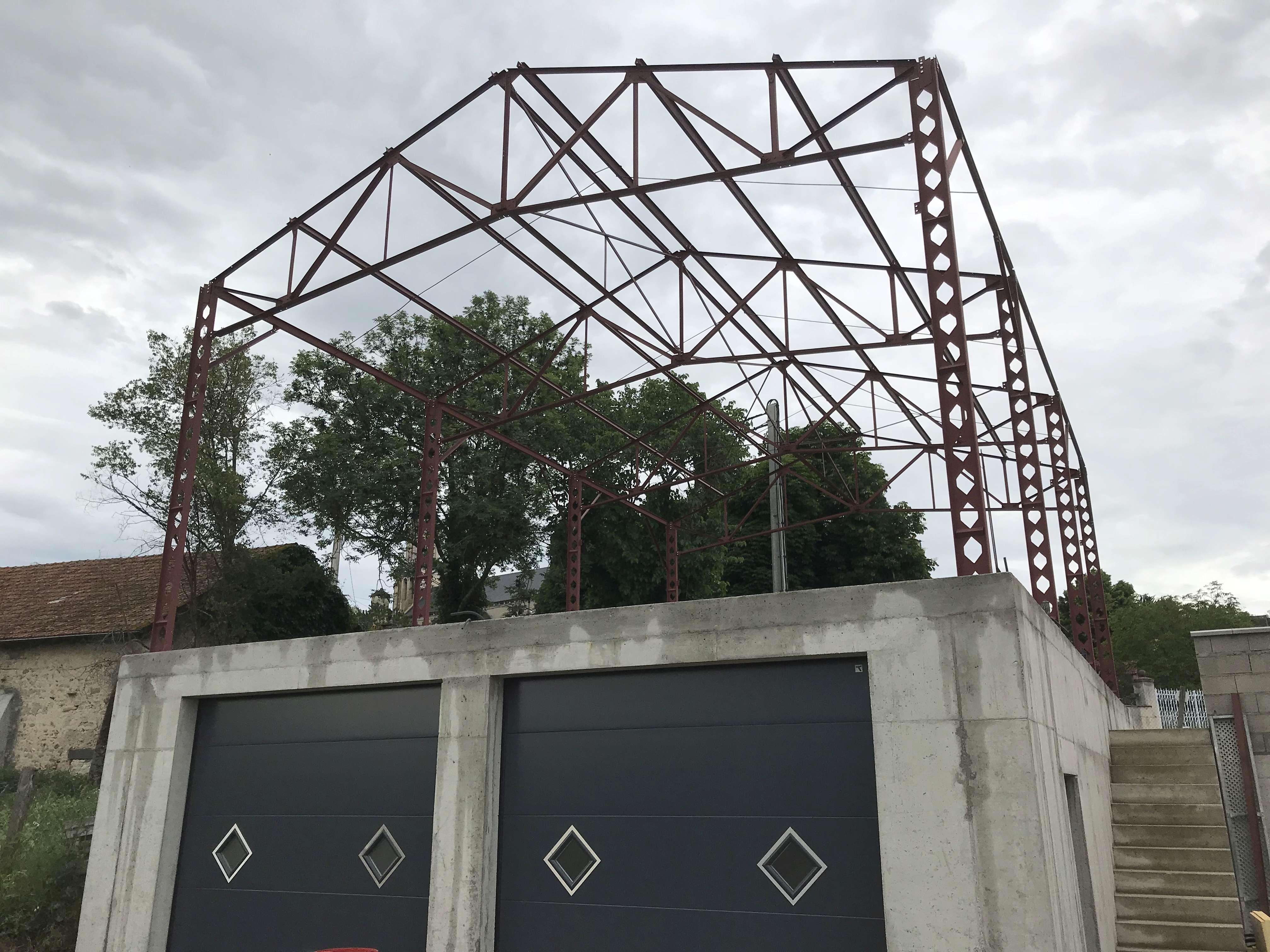 Chroniques de fatou, construction du pigeonnier sous toiture Af45f110