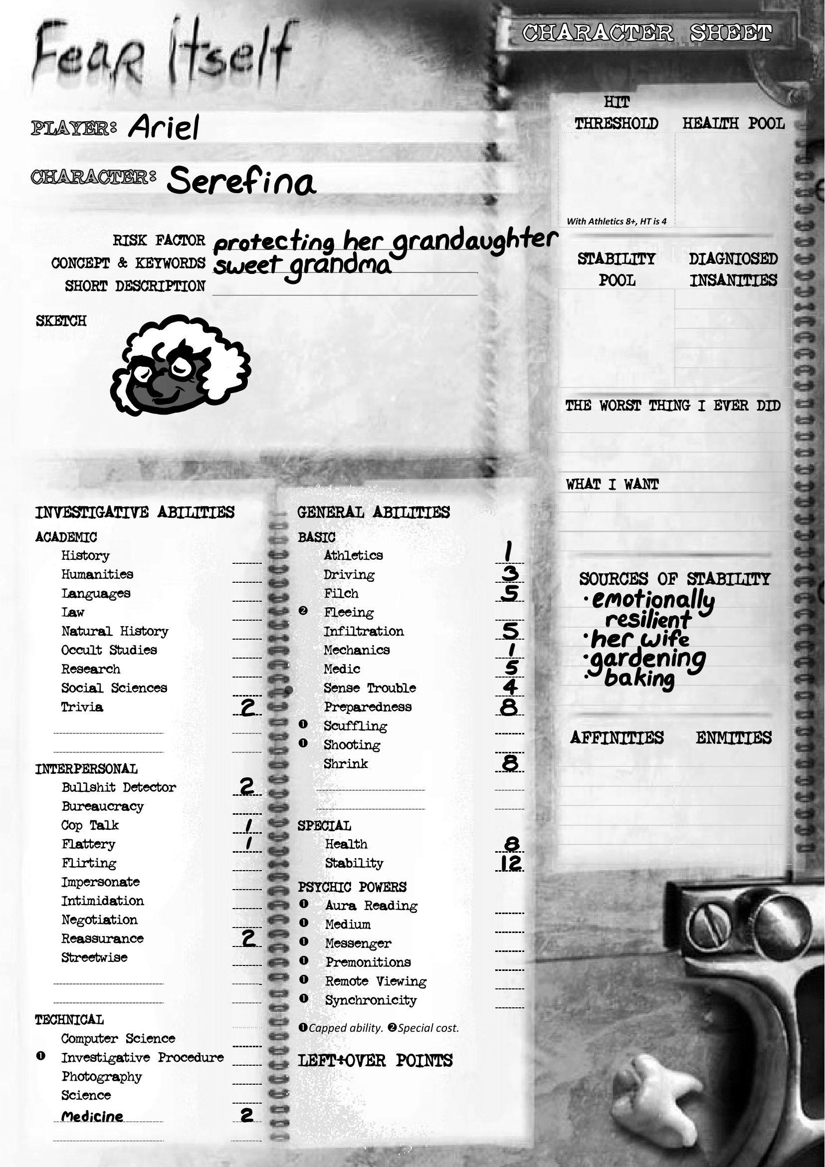 Old Lady Serefina 15280510