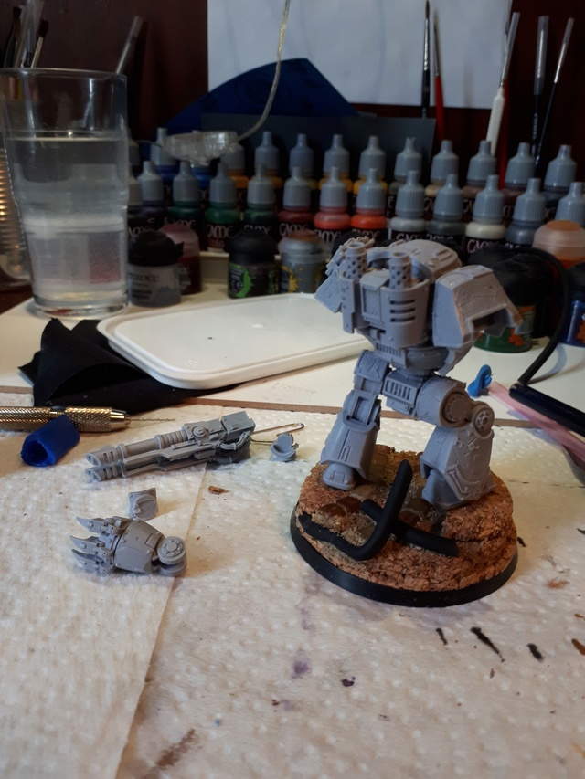 [WIP] Papa, comment on fait les Contemptors ? Axr0lk10
