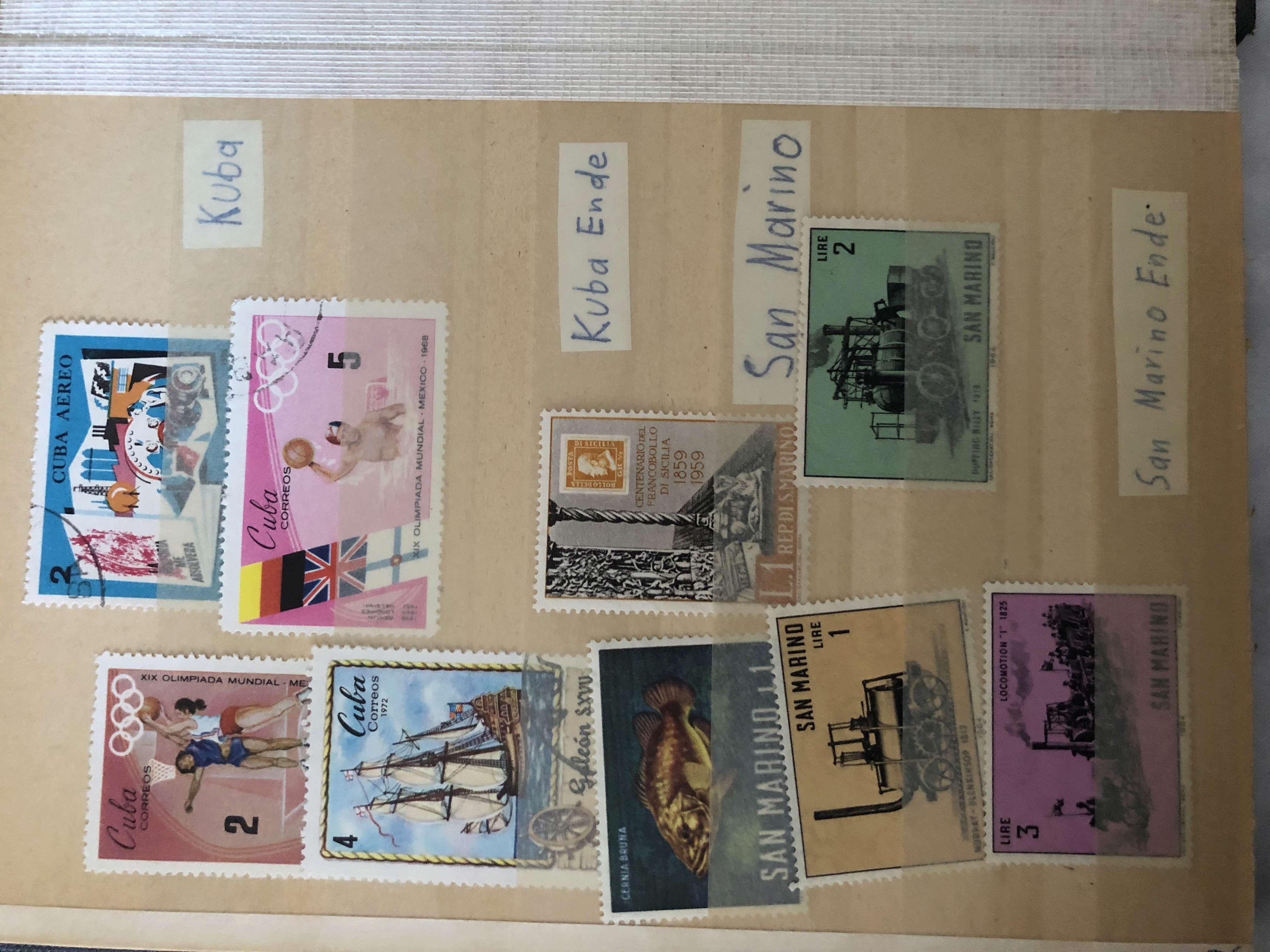 Ältere Briefmarkensammlung 8fe88d10