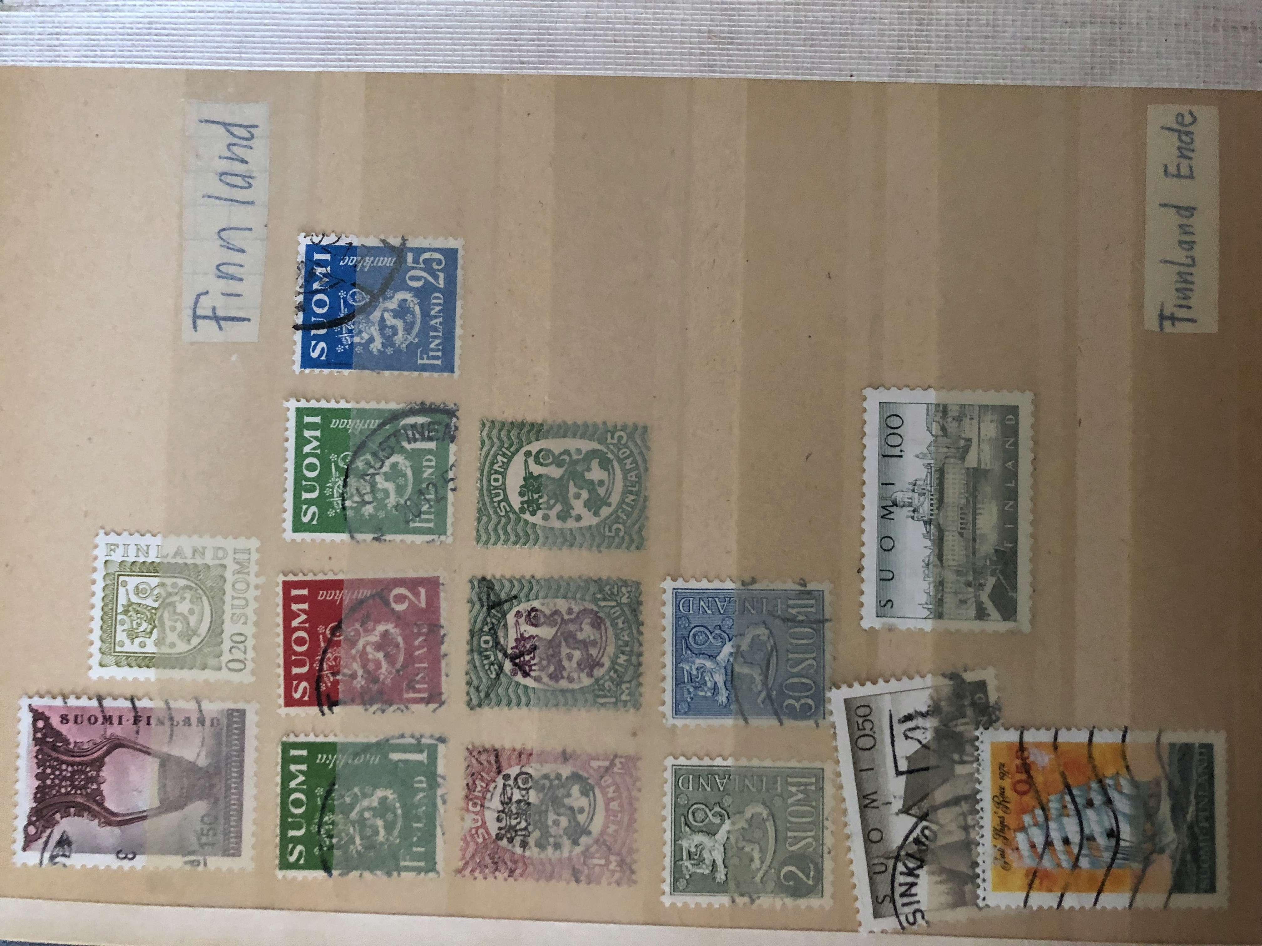 Ältere Briefmarkensammlung D3509f10