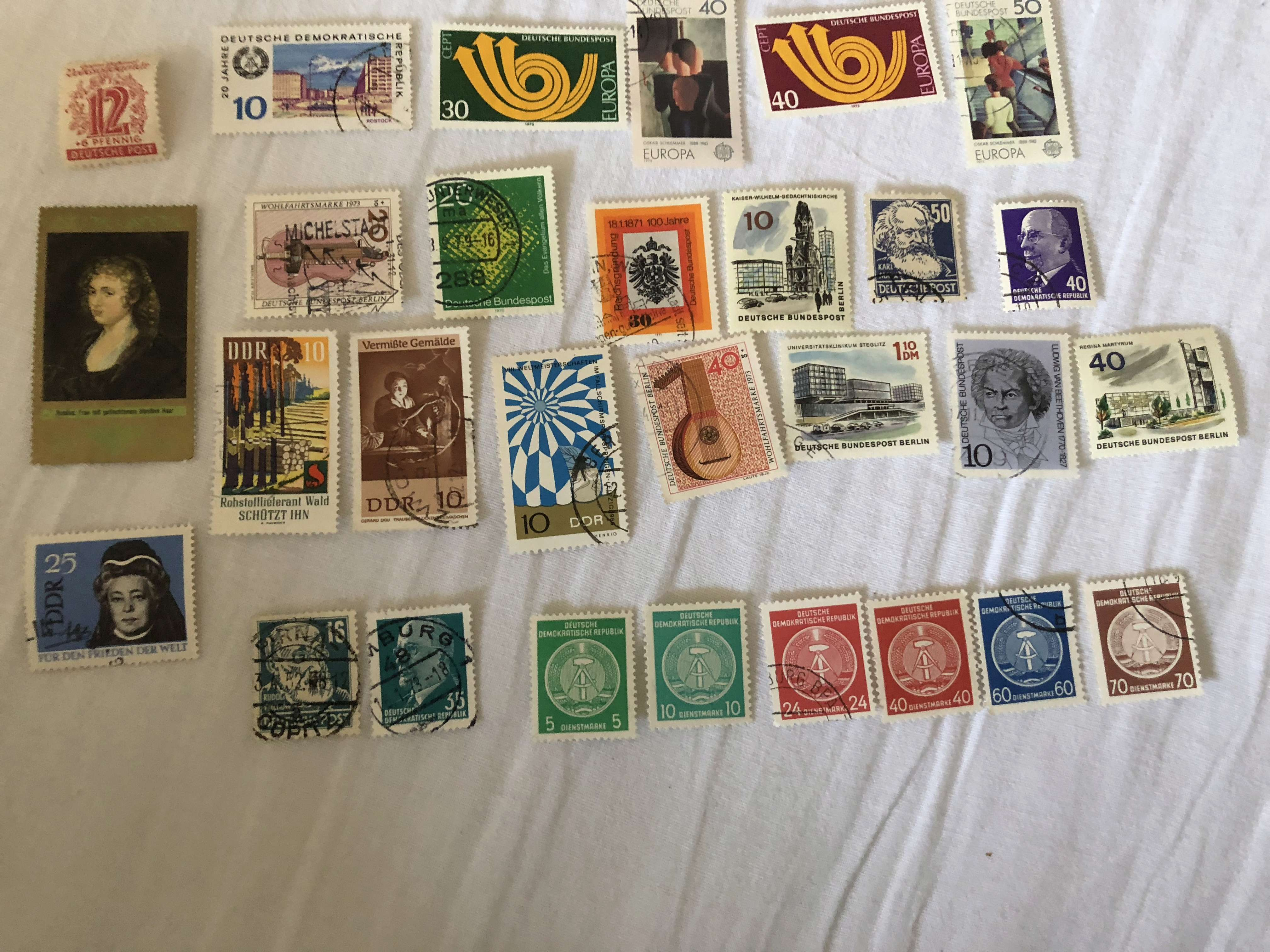 Ältere Briefmarkensammlung Eb6a8610