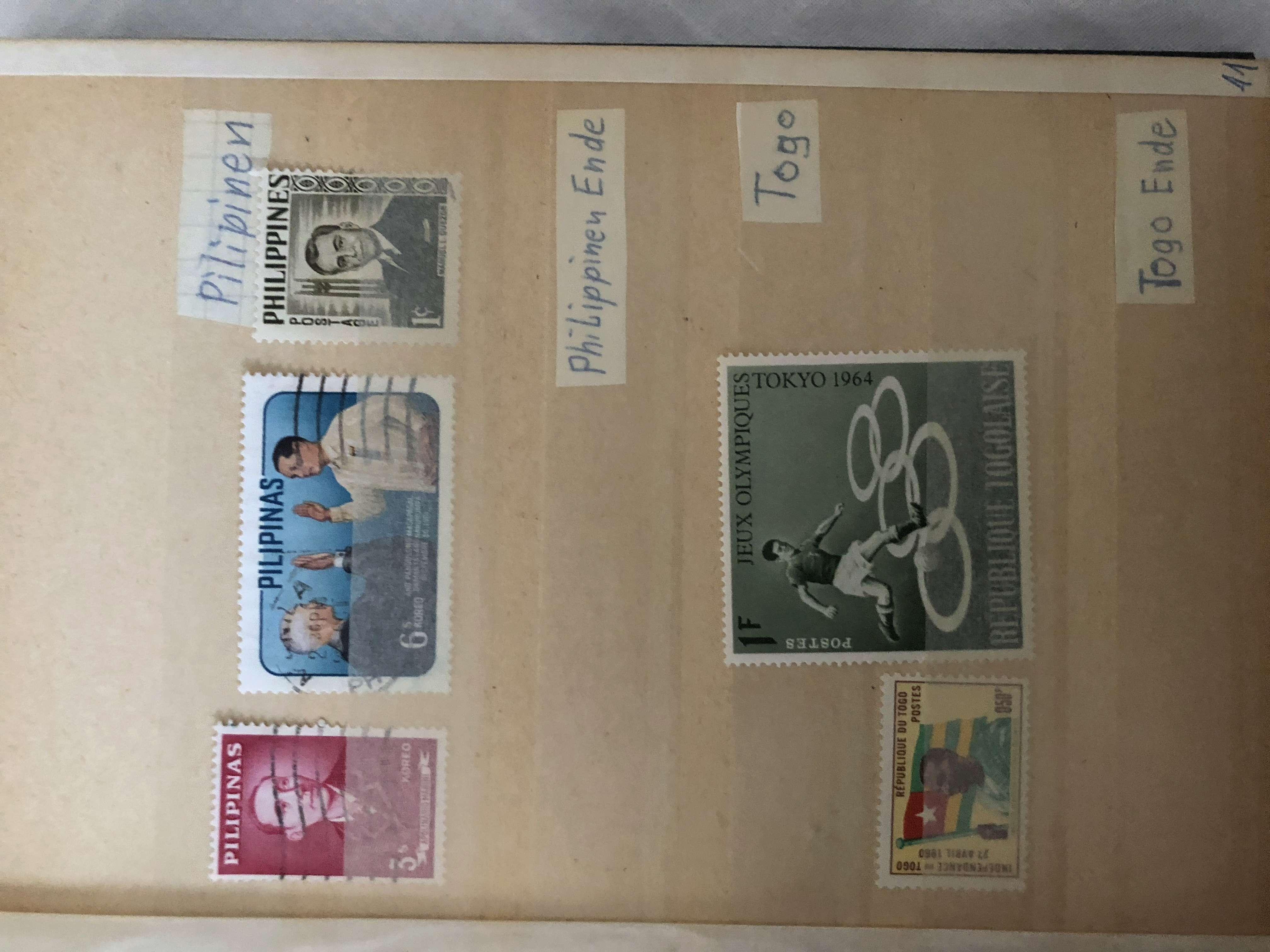 Ältere Briefmarkensammlung Fee46010
