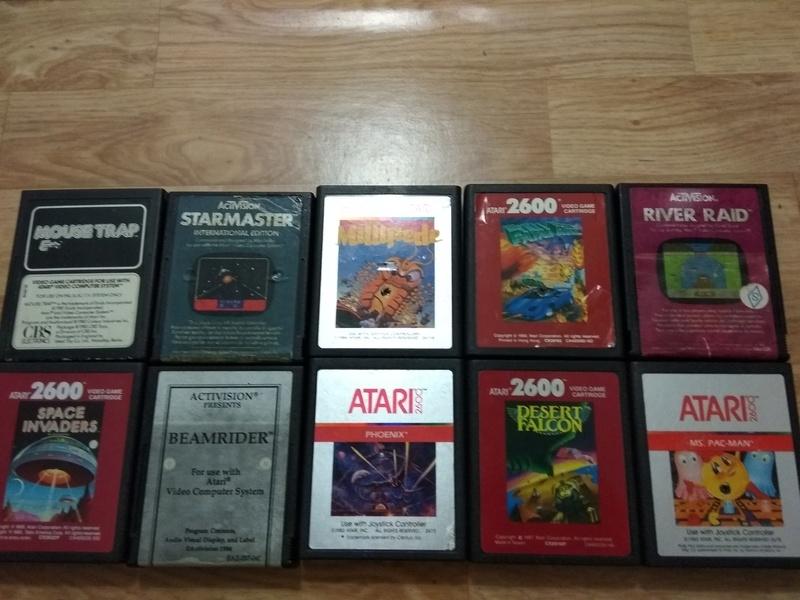 Deux Atari 2600 en plus dans la collection ! Img_2014