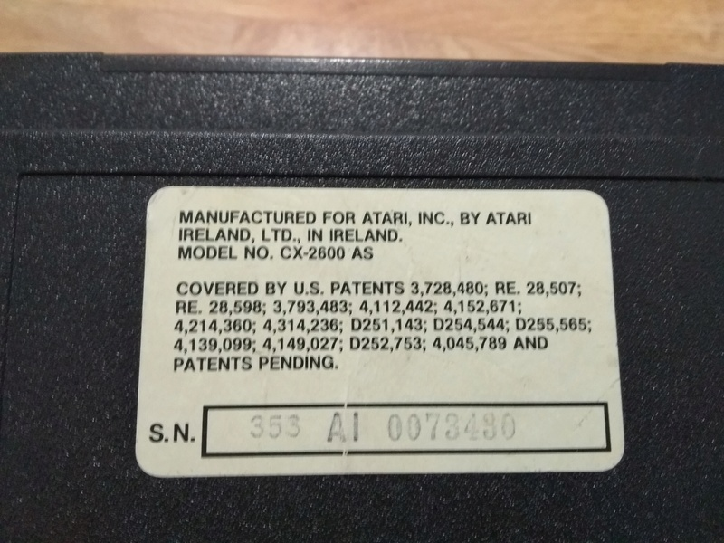 Deux Atari 2600 en plus dans la collection ! Img_2015