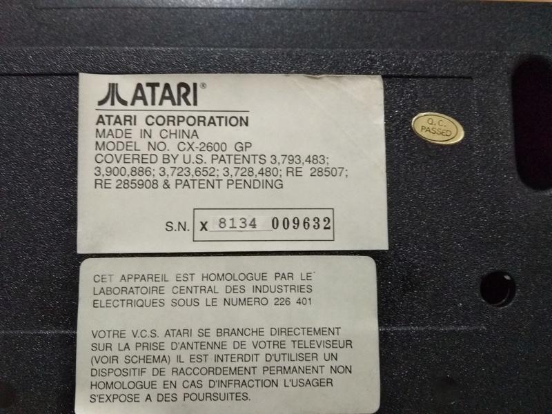 Deux Atari 2600 en plus dans la collection ! Img_2016