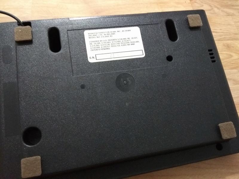 Deux Atari 2600 en plus dans la collection ! Img_2019