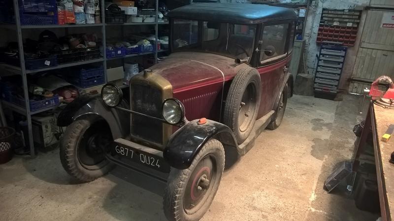 Peugeot 190S conduite intérieure 1929 Wp_20114