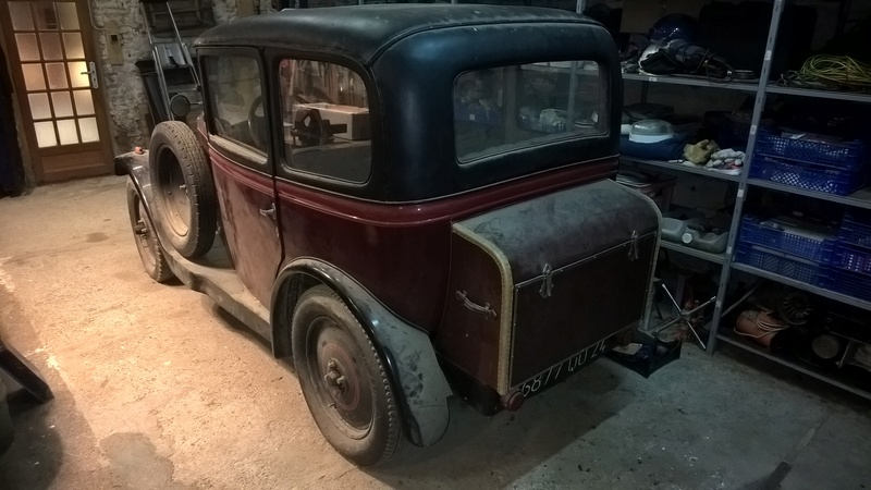 Peugeot 190S conduite intérieure 1929 Wp_20115
