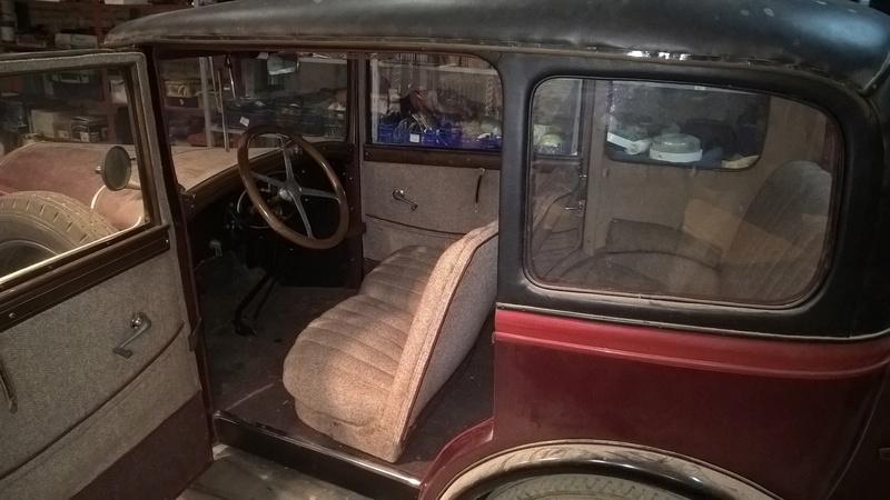Peugeot 190S conduite intérieure 1929 Wp_20117