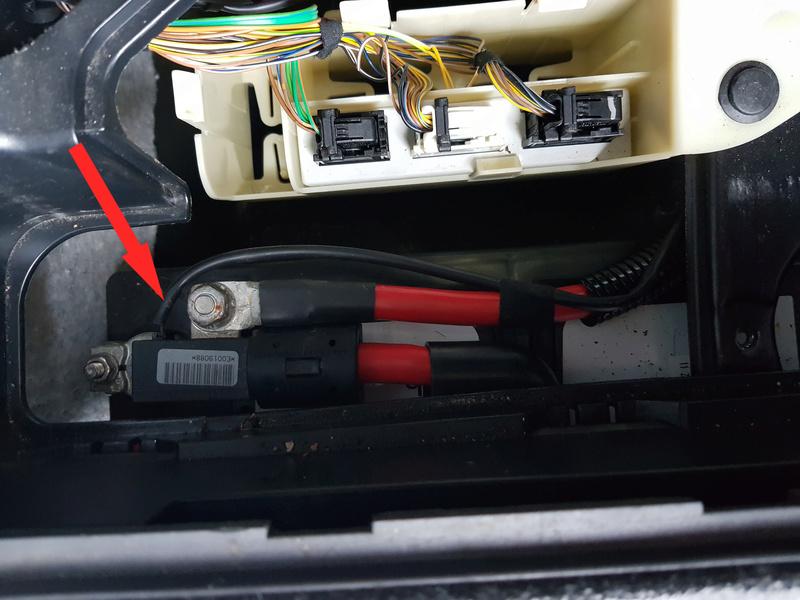 [ BMW e65 745i an 2002 ] voyant de ceinture et d'airbag allumés 20180612
