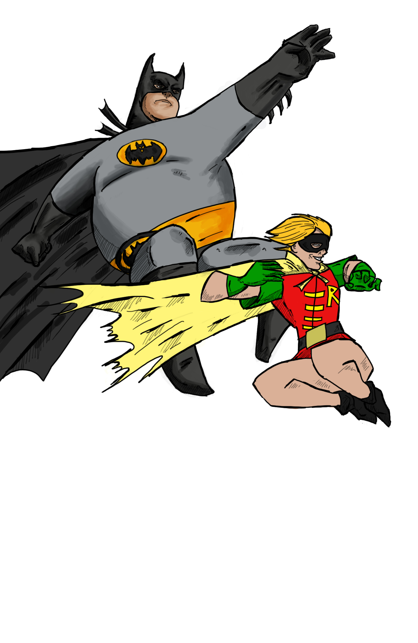 [Comics] Fan Art de los Usuarios - Página 3 Batman10