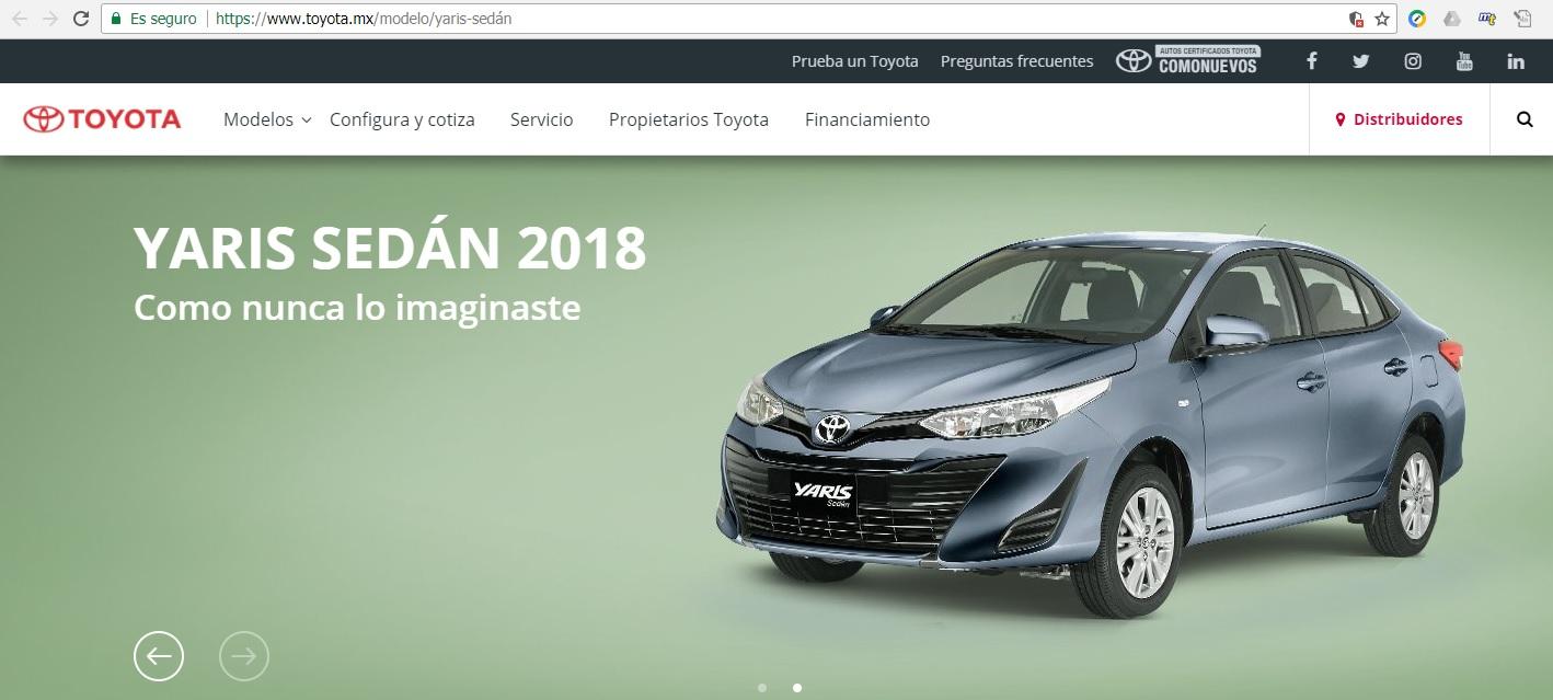 Toyota platinum se deja de fabricar en junio? Yaris10