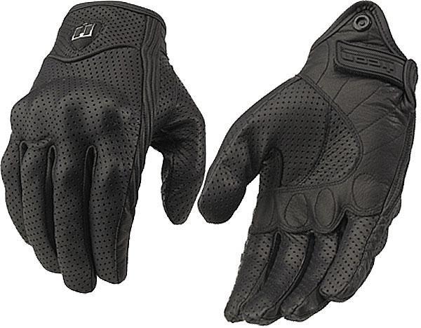 Кожаные мото перчатки Icon Pursuit перфорированные Размер XL 740 грн 34667-11