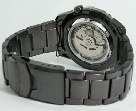 [Vendido]  Seiko 5 sports Made in Japan. Black P.V.D. SNZE99j1 Temp713