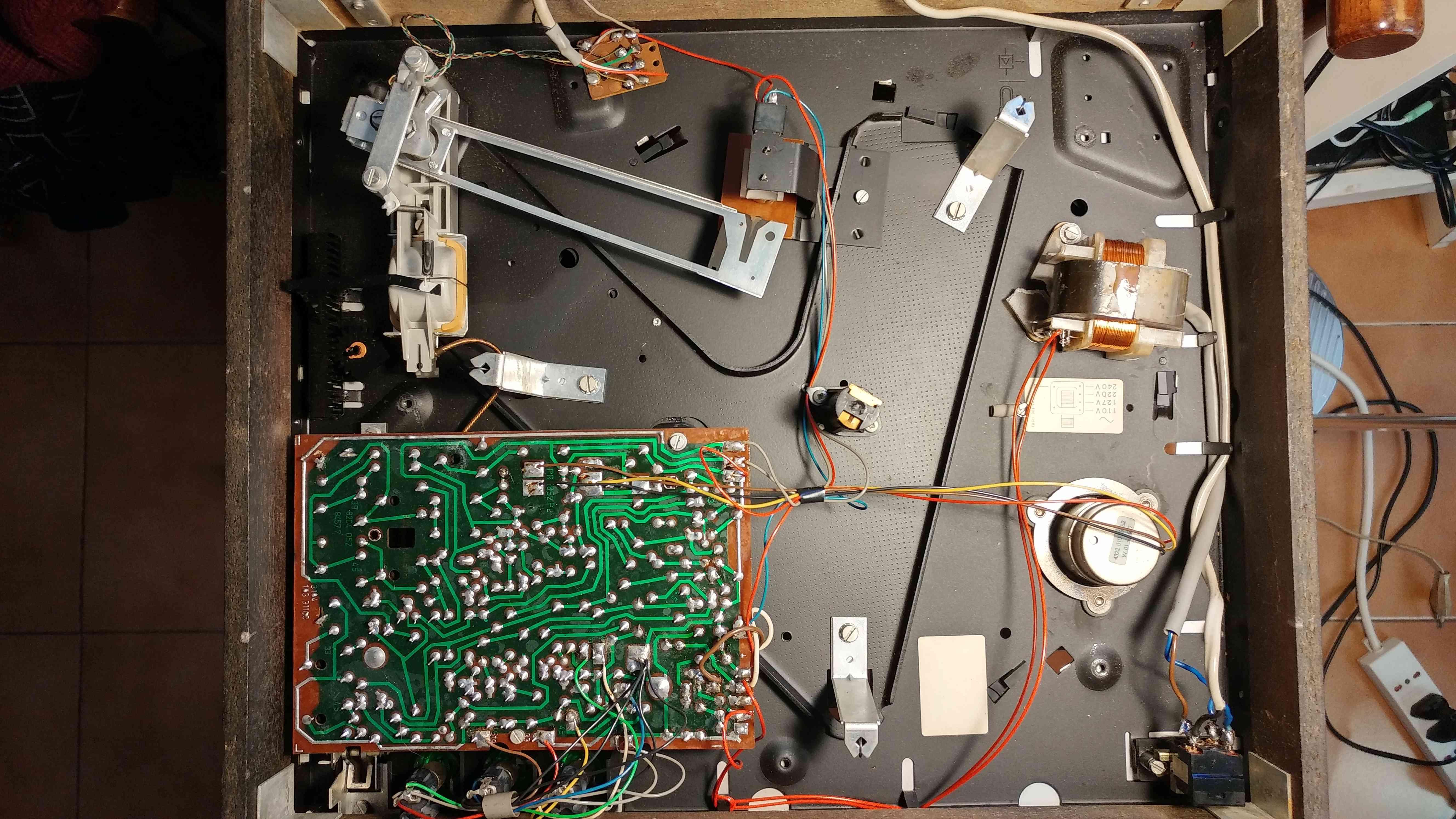 Philips 22GA212 - una moltitudine di problemi! 1)Motore Lento 20180613
