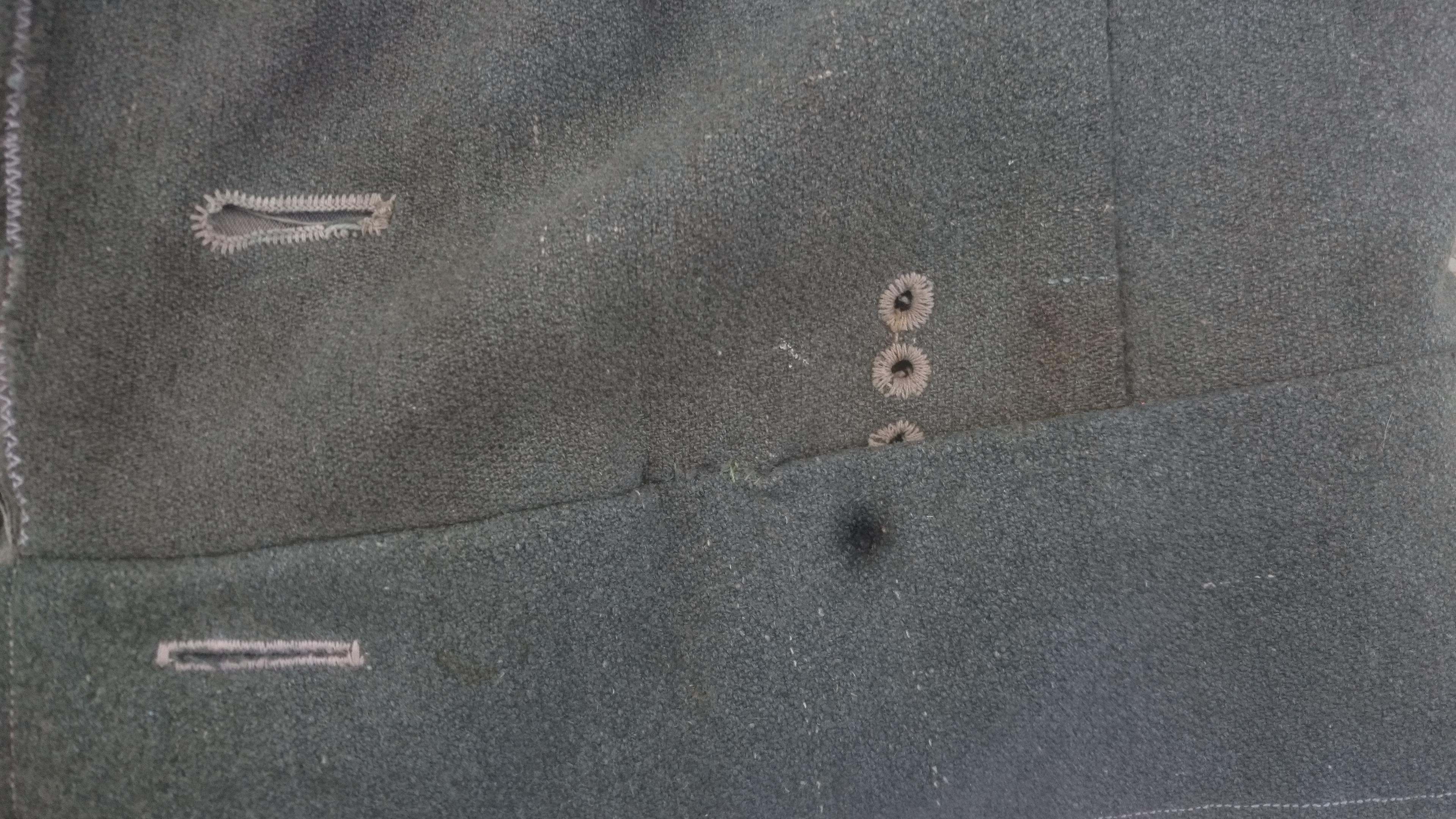 FELDBLUSE M43 bidouillée en FELDBLOUSE M44 Dsc_0010